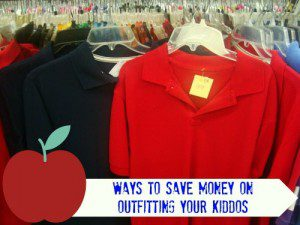 Ways to save money on outfitting your kiddos