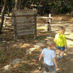 Off towards the trailheads in Cibilo Nature Center
