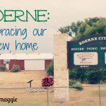 New Kids on the Block: Our Move to Boerne
