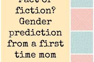 gender prediction