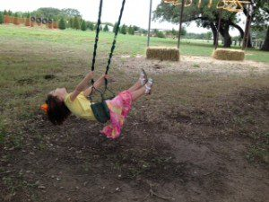 Joy on the Swing