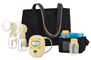 Best Pump Eva!!! {photo courtesy of Medela}