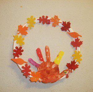 kids craft, Hand print art