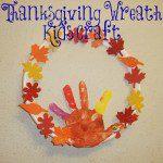 Thanksgiving Wreath Kids Craft