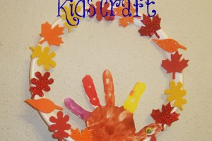 Hand print Turkey Art
