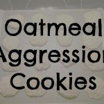 Kids in the Kitchen ~ Oatmeal Aggression Cookies