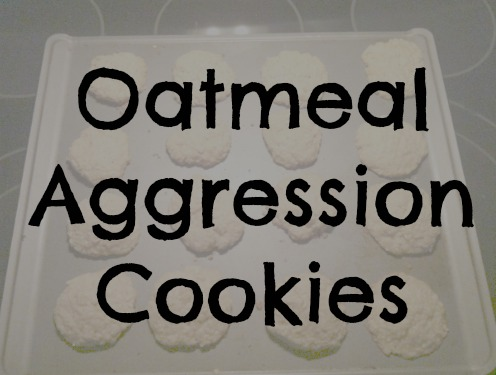 Kids in the Kitchen ~ Oatmeal Aggression Cookies | Alamo City Moms ...