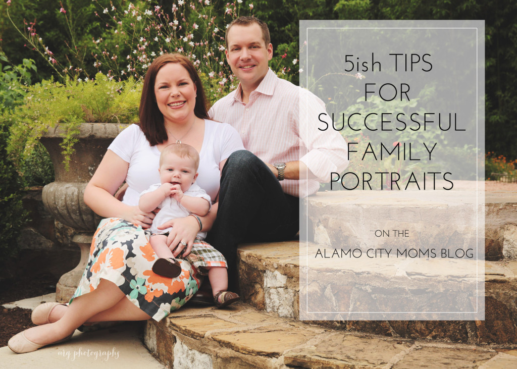 family portrait tips