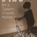 5 Tips for a Sensory Friendly Holiday Season