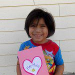 Easy and Kid Made Thumbprint Valentine's Cards