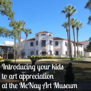 Introducing your kids to art appreciation at the McNay Art Museum | Alamo City Moms Blog