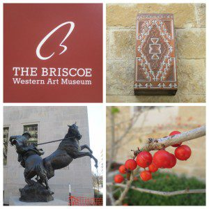 Details at the Briscoe Western Art Museum in downtown San Antonio