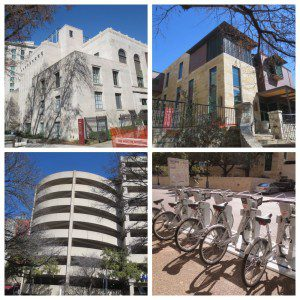 Briscoe Western Art Museum, Gunther Pavilion, Riverbend Garage, and B-cycle