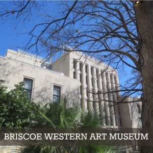 Briscoe Western Art Museum in downtown San Antonio, Texas