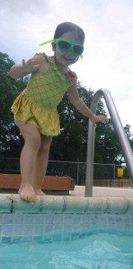 We are excited to spend time with Ilana at the pool this summer!