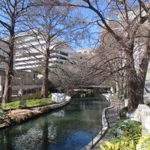 San Antonio Riverwalk at the Briscoe Western Art Museum