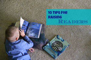 10 Tips For Fostering a Love of Reading
