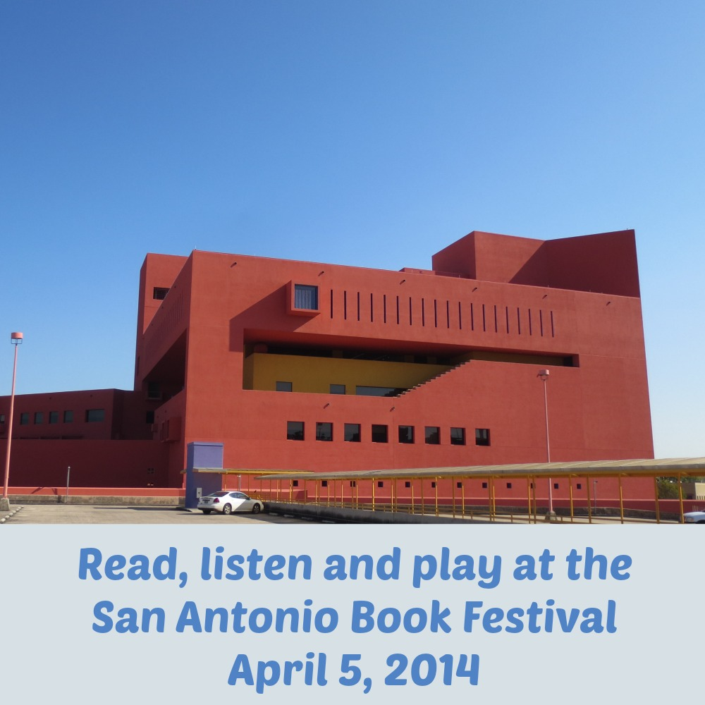 Read, listen and play at the San Antonio Book Festival on April 5, 2014 | Alamo City Moms Blog