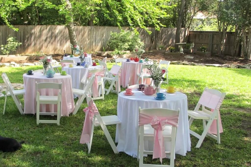 An American Girl Tea Party