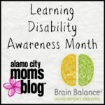Learning Disability Awareness Month {Sponsored}