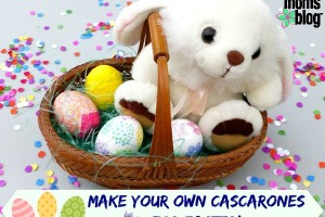 Make your own cascarones for easter {Confetti eggs}