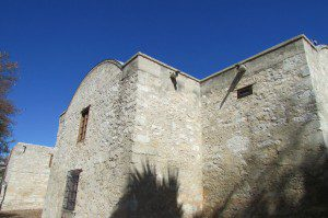 Walls of the Alamo, San Antonio, Texas