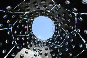 Overland Gourd oculus, San Antonio Botanical Garden