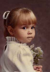 This innocent child NEVER acted bratty to her own mother. (Pssshhh, sure!)