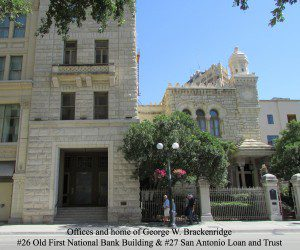 Texas Star Trail - George W. Brackenridge | Alamo City Moms Blog