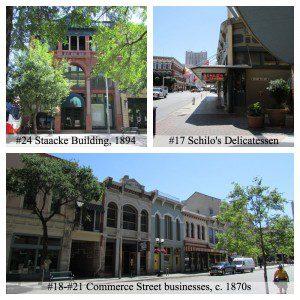 Texas Star Trail - East Commerce Street, downtown San Antonio | Alamo City Moms Blog
