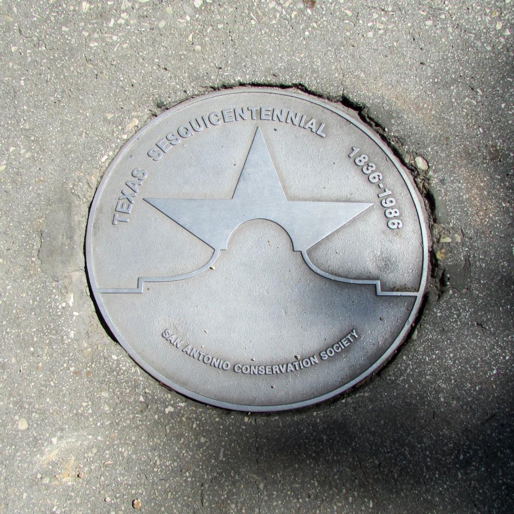 Texas Star Trail medallion | Alamo City Moms Blog