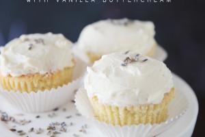 amb-lavender cupcakes
