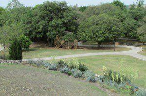 eco echo dome, San Antonio Botanical Garden