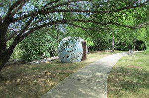 """The Egg Nest: """"FALLEN"""", San Antonio Botanical Garden"""