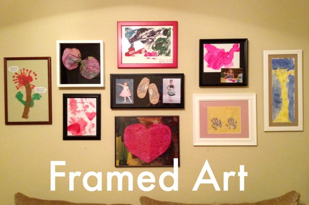 The Art of Art: Organizing and Displaying Children\'s Artwork