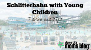 Schlitterbahn with young children