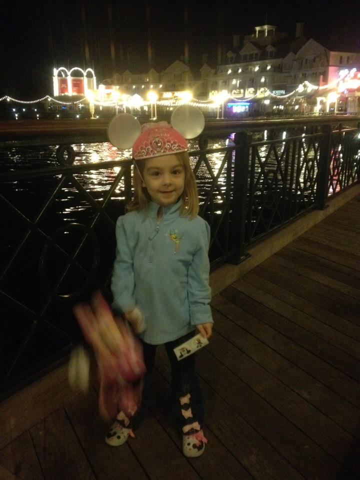 All smiles at the BoardWalk on the night of our arrival