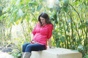 arg photographs CHRISpark - maternity photo on journal bench | Alamo City Moms Blog