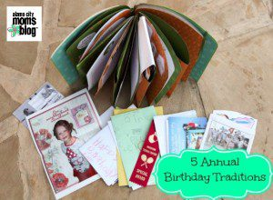 5 Annual Birthday Traditions