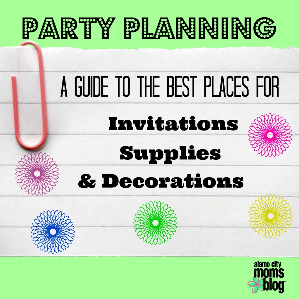 Party Invitations, Decorations and Supplies for the Best Birthday Yet