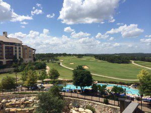 A gorgeous view of TPC San Antonio's AT&T Oaks golf course