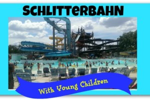 Schlitterbahn with young children