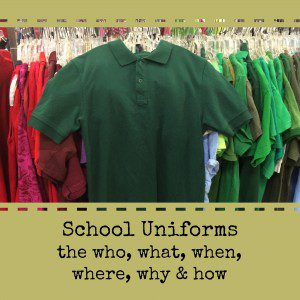 School Uniforms: The Who, What, Where, Why and How | Alamo City Moms Blog