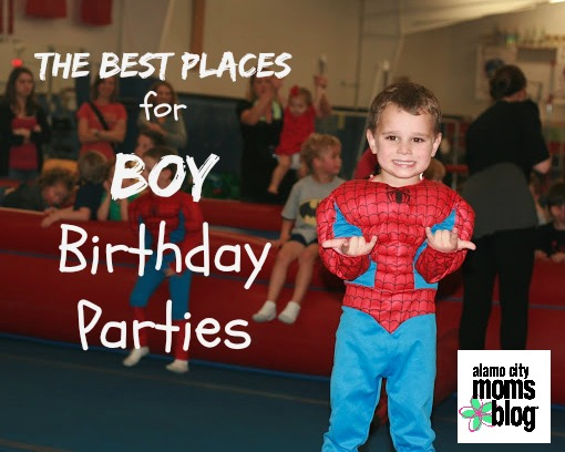 The Best Places For Boy Birthday Parties