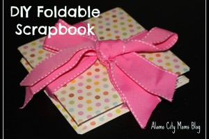 DIY Foldable Scrapbook