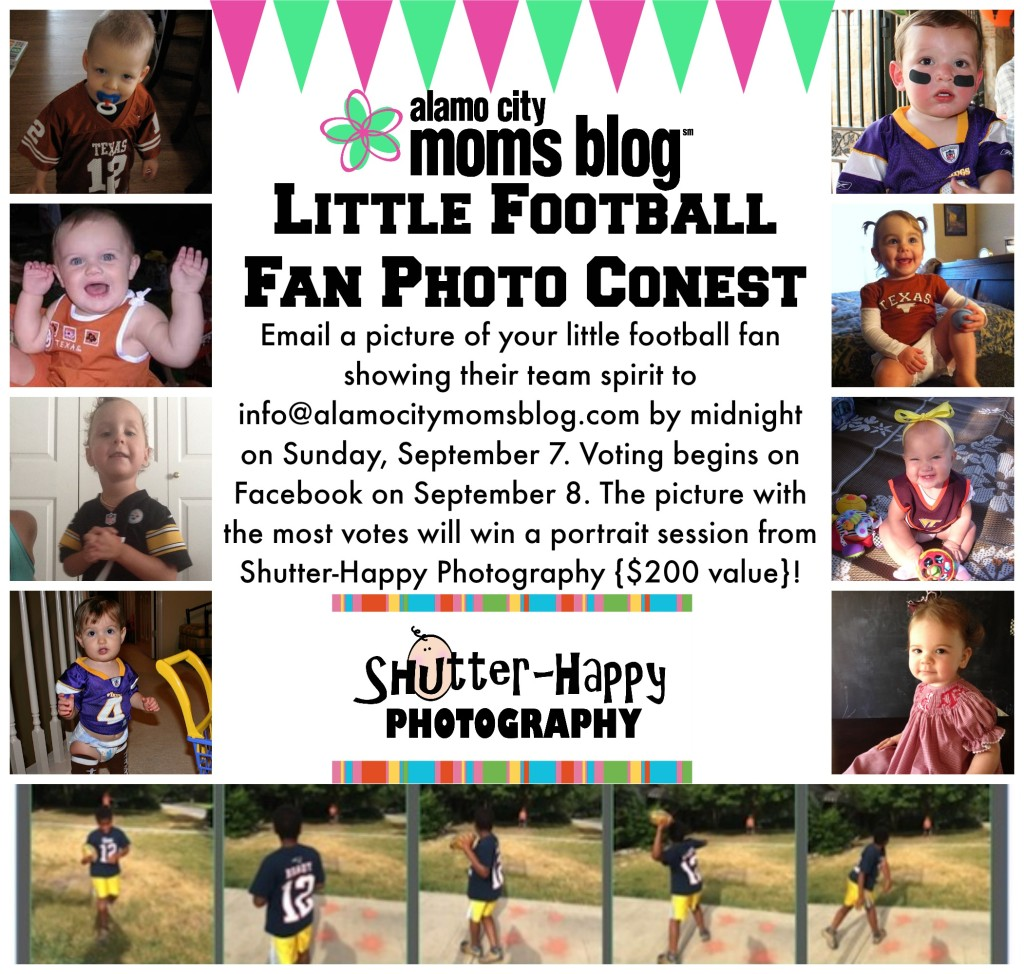 Little Football Fan Photo Contest