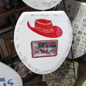 Red Hat at the Toilet Seat Art Museum | Alamo City Moms Blog