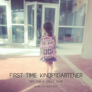 Back to School: First Time Kindergartener Tips