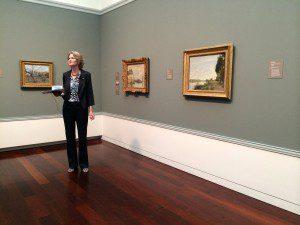 Intimate Impressionism Curator Mary Morton