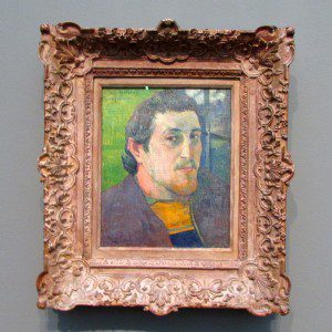 Intimate Impressionism at the McNay Art Museum: Paul Gauguin self portrait